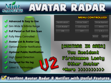 >> Ultimate Avatar Radar & Notifier >> Sim-Wide Full Scan