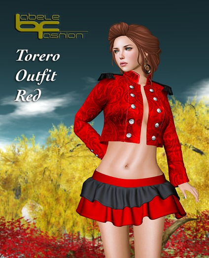 Babele Fashion :: Torero Outfit Red