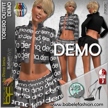 Babele Fashion :: Torero Outfit Demo
