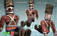 [MF] Mesh broken steel soldier toy (boxed)