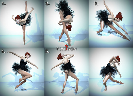 Second Life Marketplace Ballet Pose 4