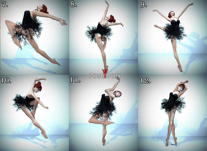 Second Life Marketplace Ballet Static Poses 7 12