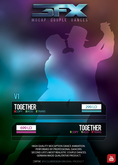 3FX Couple Dance together (single) *BOXED*