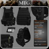 >>MTG<< Plate Carrier Harness BLACK box 1.0 >>SALE -50%<<