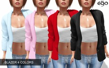 [ EGO ] Blazer (4 colors)