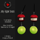 .Hoof Hearted.  Jolly Apple Snack , Horse toy