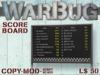 WarBug Score Board