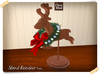 Stand Reindeer Xmas ♥ NEW Chez Moi
