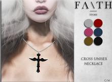 Faith/cross unisex necklace
