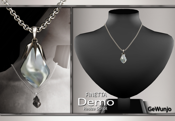 GeWunjo : FINETTA diamond necklace DEMO