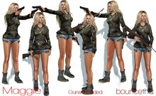 Bounce This Poses - Maggie