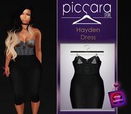 - piccara - Hayden Dress - Black