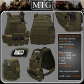 >>MTG<<  Plate Carrier Harness COYOTE BROWN box 1.0 >>SALE -50%<<