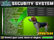 Good Dog Security System : Protect your land, home or skybox
