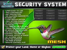 HummingBird Security System : Protect your land, home or skybox