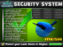 Bird Orb Security System : Protect your land, home or skybox