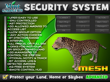 Leopard Security System : Protect your land, home or skybox