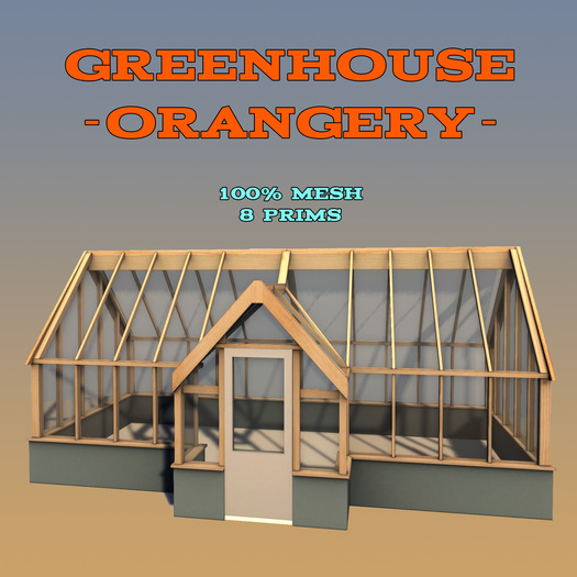 Orangery - Greenhouse ::Mesh::