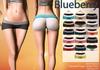 Blueberry - Sylvia Mesh Yoga Shorts - Maitreya/Belleza/Slink - Fat Pack