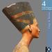 3D / Bust of Nefertiti / 4 land impact