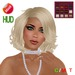 "eDeLsToRe woman mesh hair "" Laura "" BOX"