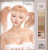 Amacci Hair - Poppy - Blond Pack
