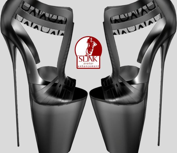 ::Seiko92::Sandals Slink Feet Black