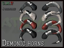 Demonic horns  [ATOMIC]