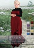 .PoshTale. Faenia Gown & Undershirt [Belleza, Maitreya, Slink, TMP, Omega - appliers + layers]