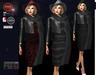 M&M-RUBY DRESS JACKET AND SCARF BLACK