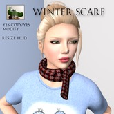 :GG: Winter Scarf. Snug and cosy for your neck and the Christmas season