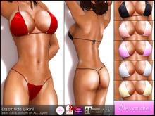 ALESSANDRA - Essentials Bikini (6 Colors)