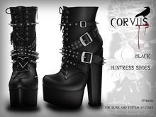 Corvus : Black Huntress Shoes