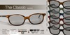 EarthStones Mesh Eyeglasses - The Classic - Darks