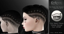 Hair Bases Star Shaved Tintable ( Apply CATWA )