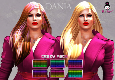 {B}DANIA HAIR - CRAZY PACK