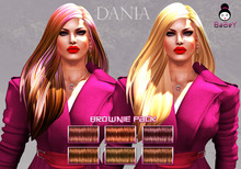 {B}DANIA HAIR - BROWNIE