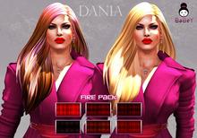 {B}DANIA HAIR - FIRE PACK [WEAR ME TO UNPACK]