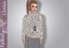 FaiRodis Silver Leater mesh skirt
