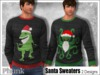 [Phunk] Men's Santa Sweaters (2 Designs)