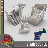 Stair Souple FULL PERM MESH, stairs