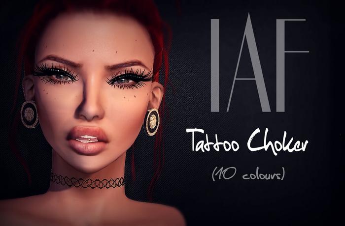 IAF Tattoo Choker (10 Colours)