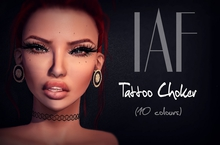 IAF Tattoo Choker (10 Colours)