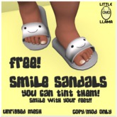 Little Llama - Smile Sandals