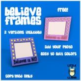 Little Llama - Believe Frames