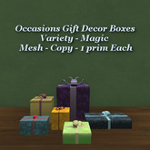 Occasions Gift Decor Boxes Magic