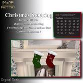 IMaGE Factory Christmas Stocking w/ Monograming HUD