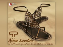 Pure Poison - Akira Sandals - Ad-ons for Maitreya and Slink Flat Feet