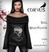 Corvus : Skull Megan Pullover