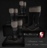 Latreia- Lanii Black Winter Boots w/HUD